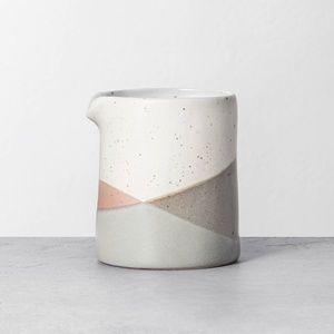 Hearth & Hand refined stoneware cream canister